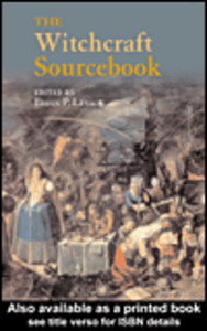 Ebook in inglese The Witchcraft Sourcebook