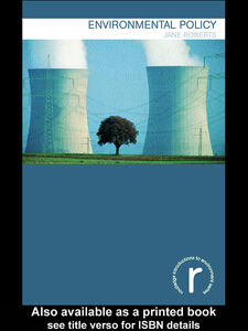 Foto Cover di Environmental Policy, Ebook inglese di Jane Roberts, edito da