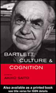 Ebook in inglese Bartlett, Culture and Cognition