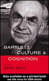Bartlett, Culture and Cognition