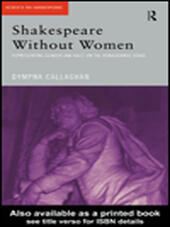 Shakespeare Without Women