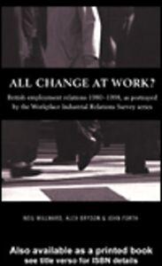 Foto Cover di All Change at Work?, Ebook inglese di AA.VV edito da