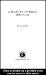 Ebook in inglese A History of Irish Thought Duddy, Thomas