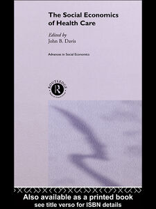 Ebook in inglese The Social Economics of Health Care