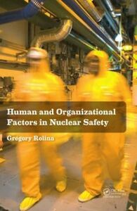 Ebook in inglese Human and Organizational Factors in Nuclear Safety Rolina, Gregory