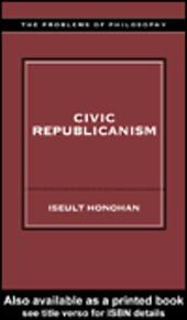 Civic Republicanism