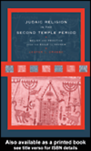 Ebook in inglese Judaic Religion in the Second Temple Period Grabbe, Lester L.