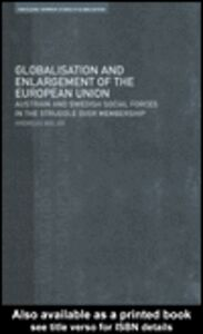 Foto Cover di Globalisation and Enlargement of the European Union, Ebook inglese di Andreas Bieler, edito da