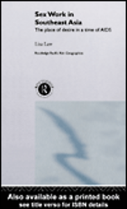 Ebook in inglese Sex Work in Southeast Asia Law, Lisa