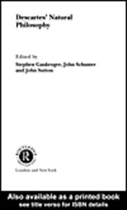 Ebook in inglese Descartes' Natural Philosophy