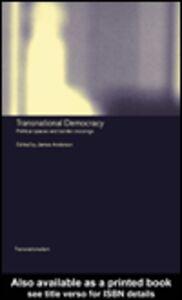Ebook in inglese Transnational Democracy
