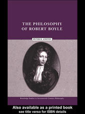 The Philosophy of Robert Boyle