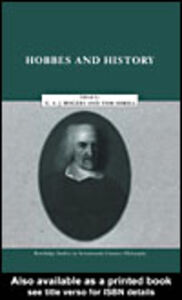 Ebook in inglese Hobbes and History