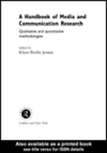 Ebook in inglese A Handbook of Media and Communication Research