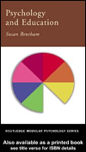 Ebook in inglese Psychology and Education Bentham, Susan