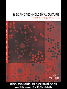 Foto Cover di Risk and Technological Culture, Ebook inglese di Joost Van Loon, edito da