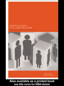Ebook in inglese Conceptualising Child-Adult Relations