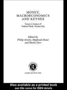 Foto Cover di Money, Macroeconomics and Keynes, Ebook inglese di AA.VV edito da