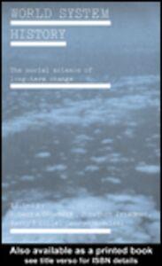 Foto Cover di World System History, Ebook inglese di AA.VV edito da