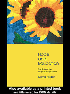 Ebook in inglese Hope and Education Halpin, David
