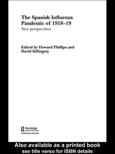 Ebook in inglese The Spanish Influenza Pandemic of 1918-1919