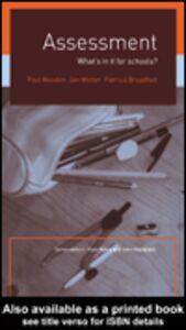 Ebook in inglese Assessment Broadfoot, Patricia , Weeden, Paul , Winter, Jan