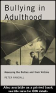 Ebook in inglese Bullying in Adulthood Randall, Peter
