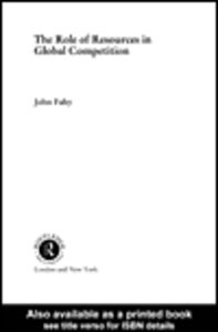 Foto Cover di The Role of Resources in Global Competition, Ebook inglese di John Fahy, edito da