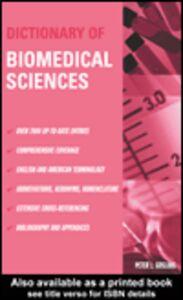 Ebook in inglese Dictionary of Biomedical Sciences Gosling, Peter J.