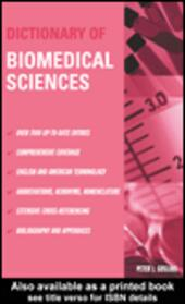 Dictionary of Biomedical Sciences