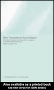 Foto Cover di New Transnational Social Spaces, Ebook inglese di Ludger Pries, edito da