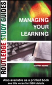 Ebook in inglese Managing Your Learning Squires, Geoffrey