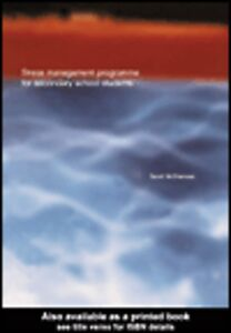 Ebook in inglese Stress Management Programme For Secondary School Students McNamara, Sarah