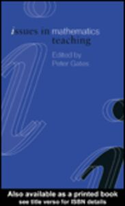 Ebook in inglese Issues in Mathematics Teaching