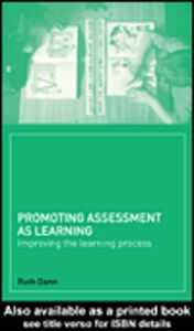 Ebook in inglese Promoting Assessment as Learning Dann, Ruth