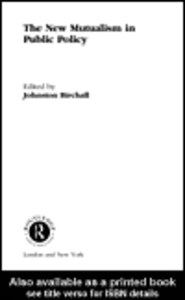 Ebook in inglese The New Mutualism in Public Policy Birchall, Johnston