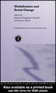 Ebook in inglese Globalisation and Social Change
