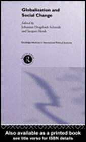Globalisation and Social Change