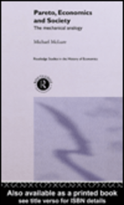Ebook in inglese Pareto, Economics and Society McLure, Michael