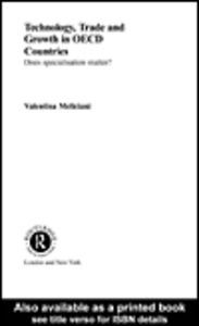 Ebook in inglese Technology, Trade and Growth in OECD Countries Meliciani, Valentina