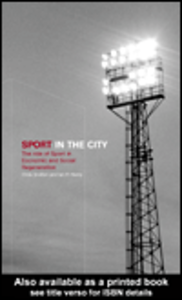 Ebook in inglese Sport in the City