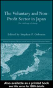 The Voluntary and Non-Profit Sector in Japan