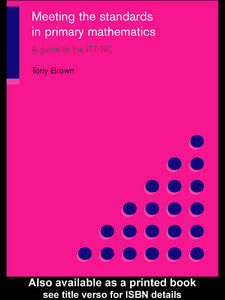 Ebook in inglese Meeting the Standards in Primary Mathematics Brown, Tony