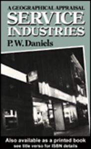 Ebook in inglese Service Industries Daniels, Peter