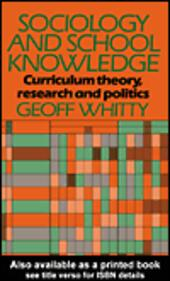 Sociology and School Knowledge