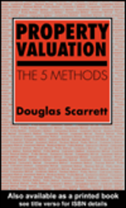 Ebook in inglese Property Valuation Scarrett, D.