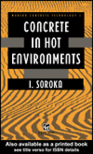 Ebook in inglese Concrete in Hot Environments Soroka, I.