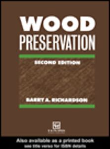 Ebook in inglese Wood Preservation Richardson, B.A.