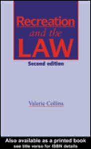Foto Cover di Recreation and the Law, Ebook inglese di V. Collins, edito da