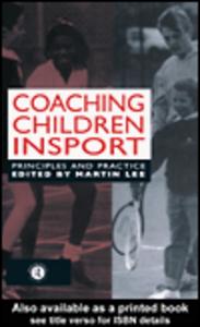 Ebook in inglese Coaching Children in Sport Lee, M.